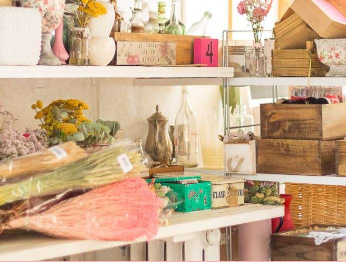 Visita nuestro taller - Flores en el Columpio